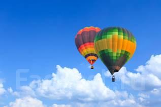50% скидка на полет на воздушном шаре
