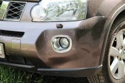 Накладка на бампер. Nissan X-Trail. Под заказ