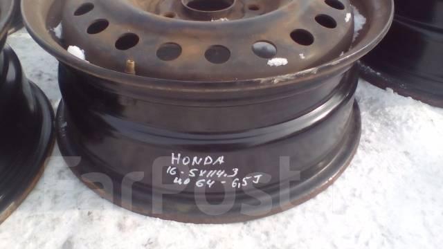 Honda. 6.5x16, 5x114.30, ЦО 64,0мм.