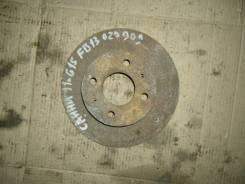 Диск тормозной. Nissan Sunny, FB13 Двигатель GA15DS