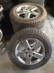 Шины зима Goodyear 195/65/15 на алюминиевых дисках Toyota. x15 5x114.30