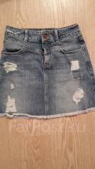 Юбки джинсовые. 38