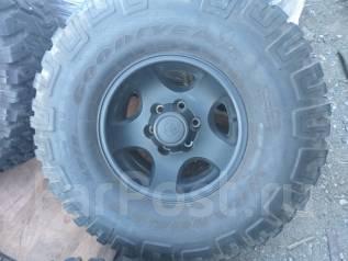 Продам грязевые шины 315/75R16 на литых дисках. x16 6x139.70 ET0