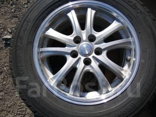 Продам зимние шины 195/65R15 на литых дисках. 6.0x15 5x100.00 ET43