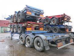 Dennison. Полуприцеп контейнеровоз 2004 г., 33 900 кг.