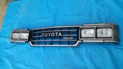Решетка на фары. Toyota Land Cruiser, FJ61, FJ60, HJ61, FJ61V, FJ62V, HJ60, FJ62, BJ61V, BJ60, BJ61, FJ62G, HJ61V, HJ60V Двигатели: 2F, 12HT, 2H, 3FE...