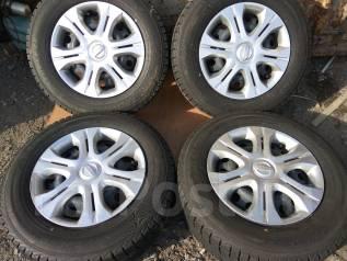 Продам зимние шины 185/70R14 на дисках. x14 4x100.00