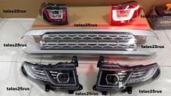 Фары, стопы, решетка стиль Range Rover Evoque для FJ Cruiser (Комплект). Toyota FJ Cruiser