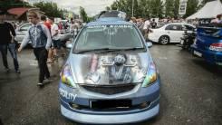 Капот. Honda Fit