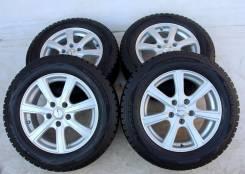 Колёса с шинами =Dunlop=R16! 8мм! 2013 год (№ 51937). 6.5x16 5x114.30 ET38