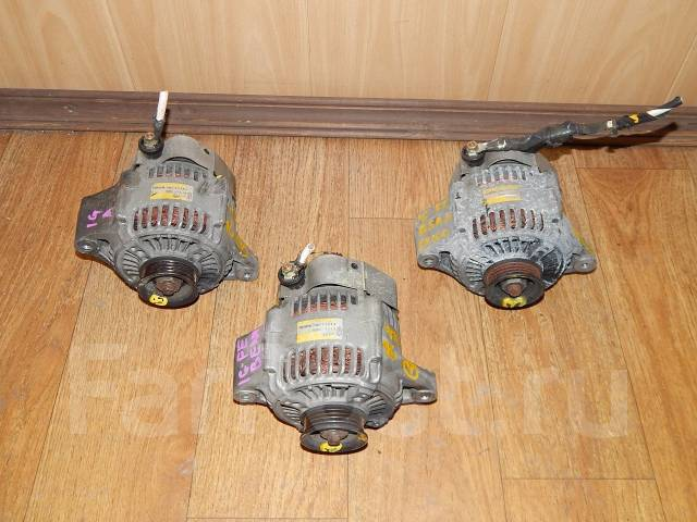 Генератор. Toyota Mark II, GX105, GX100 Toyota Chaser, GX100, GX105 Toyota Crown Toyota Cresta, GX100, GX105 Двигатели: 1GFE, 1GE, 1GEU, 1GGZE, 1GGPE...