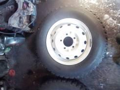 Продам, комплект резины на дисках для автомобиля нива. 5.0x16 5x139.70 ET58 ЦО 97,0мм.