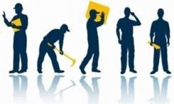 Услуги разнорабочих: - Уборка на прилегающей территории