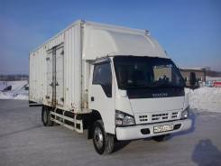 Isuzu NQR. Продам грузовик , Фургон 5 тонн, 31 куб, 12 европалет, Обмен, 5 000 куб. см., 5 000 кг.