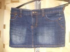 Юбки джинсовые. Рост: 128-134, 134-140, 140-146, 146-152, 152-158, 158-164 см