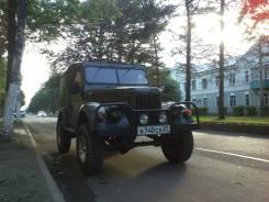 ГАЗ 69. механика, 4wd, 2.9 (55 л.с.), бензин, 1 тыс. км