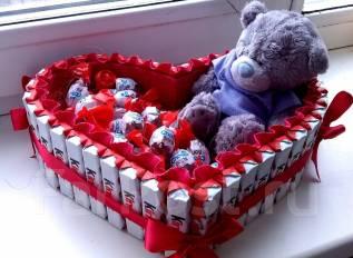 Подарок на 14 февраля день святого валентина. Под заказ