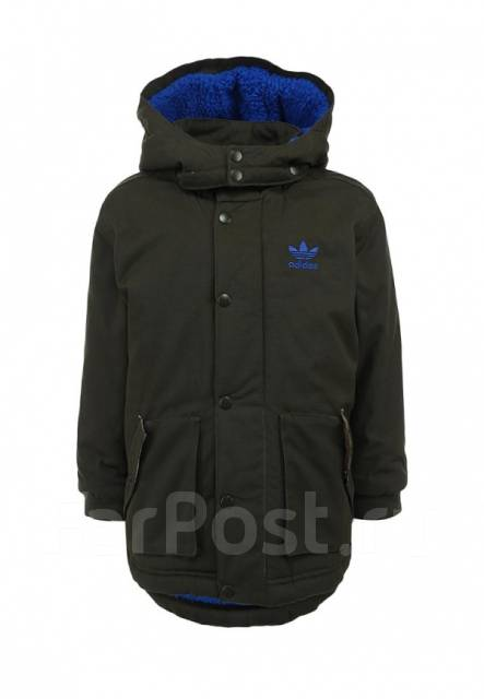 2d9e0db3c8f Брендовая Детская Утепленная Куртка Adidas Parka KIDS M63367 во Владивостоке