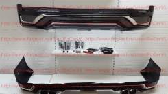 Насадка на глушитель. Toyota Land Cruiser, UZJ200W, VDJ200, J200, URJ202W, URJ202, UZJ200