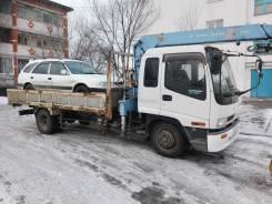Услуги грузовика с краном эвакуатор владивосток 10000 Хабаровск 25000