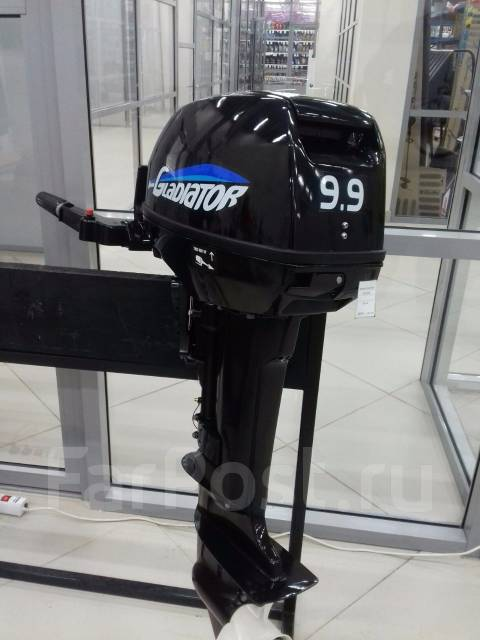 Gladiator. 9,00л.с., 2х тактный, бензин, нога S (381 мм), Год: 2017 год