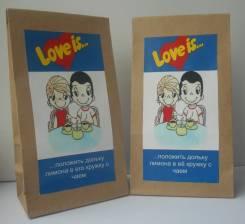 Подарочный чай Love is. Подарок на 14 февраля