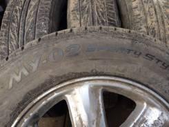 Продам колеса R15 на летней резине Bridgestone Sporty Style MY-02. x15 5x100.00