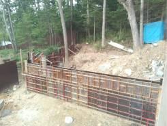 Строительство монолитное.
