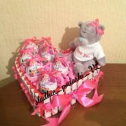 Сладкий подарок на 14 февраля день святого валентина. Под заказ
