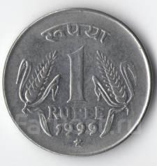 1 рупия 1999г. Индия