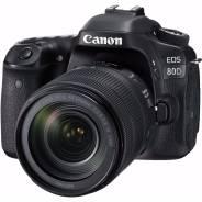 Зеркальный фотоаппарат Canon EOS 80D Kit with EF-S 18-135mm f/3.5-5.6. 20 и более Мп