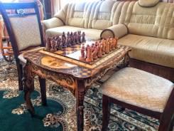 Продам эксклюзивный шахматный стол ручной работы