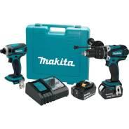 Набор бытовых электроинструментов Makita XT218MB 18 В LXT