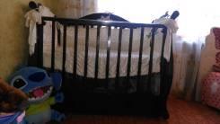 Кроватка детская, в отличном состоянии с матрасом 15000