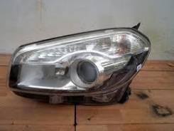 Фара. Nissan Qashqai, J10 Nissan Dualis, J10 Двигатели: HR16DE, MR20DE
