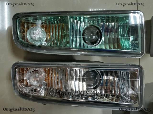 Фара противотуманная. Toyota Land Cruiser Cygnus, UZJ100W Lexus LX470, UZJ100