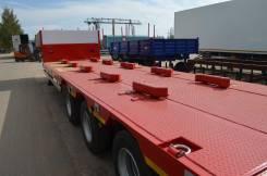 Steelbear. Полуприцеп-тяжеловоз TR-31 раздвижной 40 тонн , 40 000 кг. Под заказ