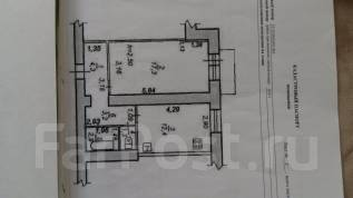 1-комнатная, улица Калинина 123. Центральный, агентство, 41 кв.м.