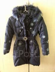 Пальто-пуховики. Рост: 122-128, 128-134 см