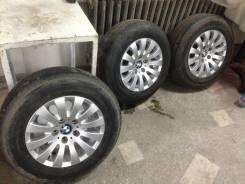 Колёса BMW 5x120 7jj 205/70R15 Bridgestone Летний комплект. 7.0x15 5x120.00 ET20