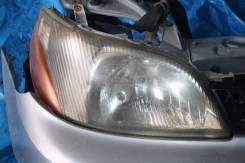 Фара. Toyota Yaris, NCP11 Toyota Echo, NCP11 Toyota Platz, SCP11, NCP12, NCP16 Двигатели: 2NZFE, 1NZFE, 1SZFE