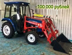 Weituo. Трактор 40 л/с + кун(фронтальный погрузчик), 2 900 куб. см.