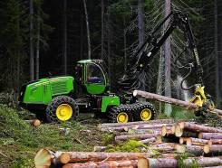 John Deere. Лесозаготовительная техника форвардер, харвестр Новосибирске