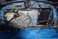 Радиатор охлаждения двигателя. Toyota Vitz, KSP90, KSP130, SCP90 Toyota Ractis, SCP100 Toyota Belta, SCP92, KSP92 Двигатели: 2SZFE, 1KRFE