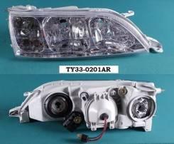 Фара. Toyota Cresta, JZX105, JZX101, JZX100, GX105, LX100, GX100 Двигатели: 1JZGE, 2LTE, 1GFE, 2JZGE, 1JZGTE