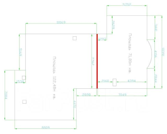 Сдам нежилое помещение на первом этаже Роскошного жилого комплекса. Улица Тигровая 16а, р-н Центр, 200 кв.м., цена указана за квадратный метр в месяц