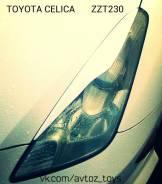 Накладка на фару. Toyota Celica, ZZT230