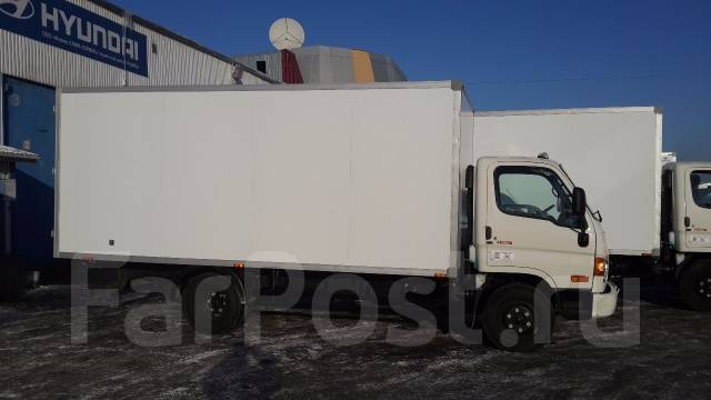 Hyundai HD78. Изотермический фургон Hyundai HD 78, 3 929 куб. см., 4 149 кг.