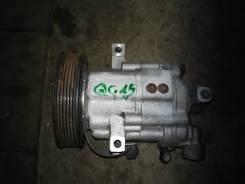 Компрессор кондиционера. Nissan Wingroad, WFY11 Двигатель QG15DE