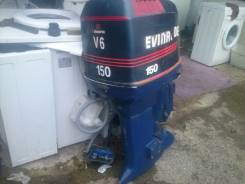 Evinrude. 150,00л.с., 2х тактный, бензин, нога X (635 мм), Год: 1991 год